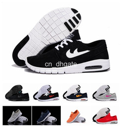 Wholesale Skateboard Shoes Low - Hot Sale SB Stefan Janoski Max 2015 Running Shoes For Men And Women Fashion Lightweight Skateboard Athletic Sneakers Maxes Size 36-44
