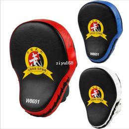 luvas de foco Desconto Nova Mão Alvo MMA Foco Soco Pad Luvas de Treinamento de Boxe Mitts Karate Muay Thai Chute de Combate 2 pçs / set