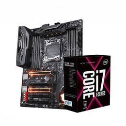 Wholesale Gaming Cpu - Octa Core 16 Threads LGA2066 Intel Core i7 7820X Processor + M.2 Interface Gigabyte X299 Gaming 3 Motherboard For i7 CPU Set