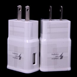 Wholesale Power Charger 5v 2a - Free 100pcs Adaptive Fast Charger 5V 2A USB Wall Charger Power Adapter For Samsung Galaxy Note 4 S6 S7 edge For iphone 5 6 7