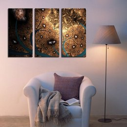 Wholesale Contemporary Homes Pictures - 3 Picture Combination Modern Abstract Contemporary Oil Paintings Artwork on Canvas Wall Art for Home Decorations Wall Decor