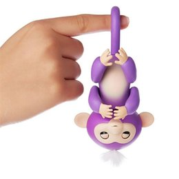 Wholesale Black Baby Feet - Cute Smart Sloth Unicorn Fingerlings Baby Monkey Hand And Feet Dynamic Finger Monkey Juguetes Electronic Pets