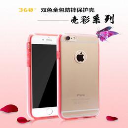 Iphone di commercio online-Commercio estero di iPhone 7 shell coperture di protezione del telefono mobile 360 pacchetto PC + TPU telefono mobile manicotto protettivo vendite dirette della fabbrica