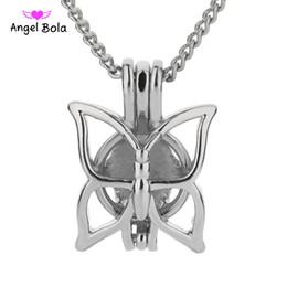 Canada 5 / lot En gros 3 Styles en stock 18kgp Mode Belles cages à papillons cheap beautiful imitation pendants Offre
