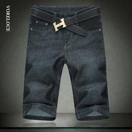 2019 jeans boutique all'ingrosso Jeans da uomo all'ingrosso al ginocchio Lunghezza enorme bit 30-52 pantaloni stretch dritti moda Tendenza estiva di jeans da uomo casual sconti jeans boutique all'ingrosso