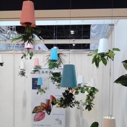 Wholesale Indoor Planter Pots Wholesale - Colourful Sky Decor Articles Planter Hanging Plant Growth Flower Pot Leak Proof Creative Home Indoor Decoration Supplies 19 9mt C R