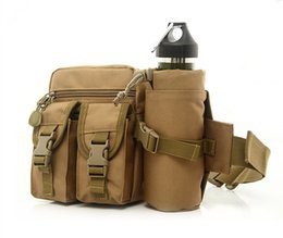Wholesale Tactical Kettle - Men and women military fans tactical movement pockets pockets riding kettle outdoor leisure travel mountaineering nylon pockets packet