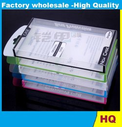 Wholesale Clear Universal Cell Phone Boxes - Universal Mobile Phone Case Package PVC Transparent Clear Plastic Retail Packaging Box for iphone4 5 Samsung HTC Cell Phone