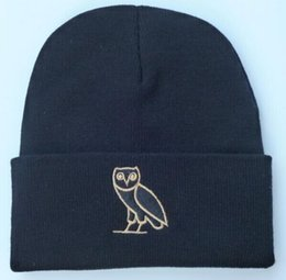 Wholesale Bird Hats - 2016 new styles hip hop winter hat lot wholesale hip hop fashion emb bird beanies mixed order from catalogue sports teams beanies