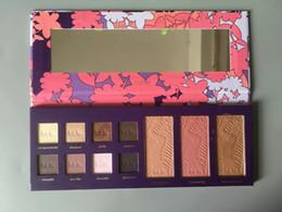 Wholesale Halloween Makeup Eye Shadow - Hot Makeup Sets Tarte High Performance Naturals empower flower 8 color eye shadow +3 color bronzing powder