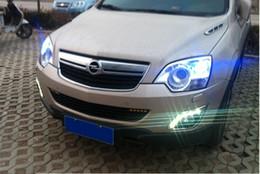 Wholesale Led Lights Antara - Free Shipping Factory price LED DRL Daytime Running Light for Europe Type Opel Antara 2010~2012 top quality