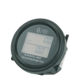 Wholesale Gas Engine For Motorcycle - Free Shipping large LCD backlight Hour Meter Tachometer For Gas Engine 2 4 Stroke Motorcycle ATV Boat Snowmobile Marine mower