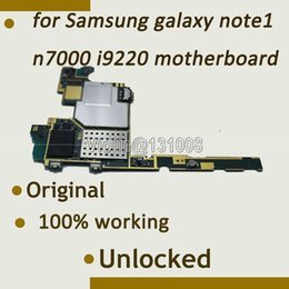 Wholesale Board Works - Wholesale-16GB 100% working Original Motherboard Mainboard For samsung galaxy note n7000 i9220 motherboard With Full Chips Logic Board