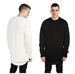 Wholesale Side Zip Hoodie Jacket - hiphop blank hoodies kpop FOG clothes kanye west pullover black grey S-XL side Zip open oversized hood hoodie men jacket fear of god