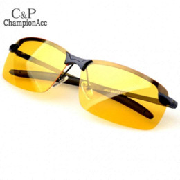 Wholesale Vision Safety Glasses - Brand New Polarized Sunglasses Night Driving Glasses Anti Glare Vision Driver Safety Sunglasses for women and men SV14 19865
