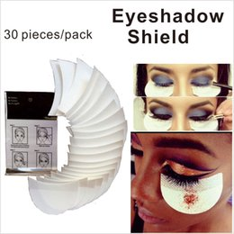 Wholesale Tools For Makeup - 30 Pieces Pack Eye shadow Shield for Eyeshadow Shields Protector Pads Eyes Lips Makeup Application Tool