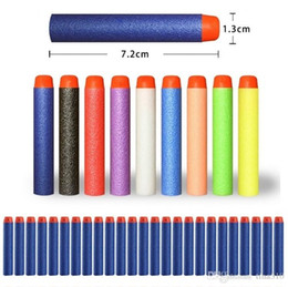 Wholesale Electric Soft Gun - New Outdoor Play toys N-Strike Elite Rampage Retaliator Series Blasters Refill Clip Darts electric toy gun soft bullet 10color 4141-1