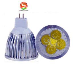 Wholesale Mr16 Pure White Led - High power CREE GU10 E27 GU5.3 E14 4x3W 12W 85-265V Dimmable Light lamp Bulb LED Downlight Led Bulb Warm Pure Cool White