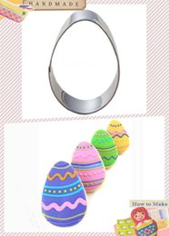 Wholesale Egg Biscuit - Wholesale- Cake Decorating Tools,Stainless Steel Egg Of Type Fondant Cut-Out Candy Biscuit Cookie Cutters Mold