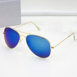 Wholesale Drive Sun Glasses - Fashion Mirrored Sunglasses Men Women Brand Designer Sun glasses with original box gafas de sol oculos