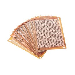 Wholesale Experiment Pcb - DIY Prototype Paper Copper PCB Universal Experiment Matrix Circuit Board 5x7cm 5x7 CM DO IT YOUR SELF