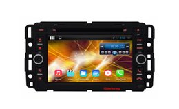 Wholesale Free Link Building - Quad Core Android 5.1.1 Car DVD Player for Chevrolet Suburban Buick Enclave with Radio GPS Navi Wifi Mirror Link 1024X600+Free Gifts