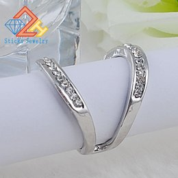 Wholesale Rings Large Stones - NEW Ladies Alloy Ring Ring 100% Green Zinc Alloy White 1piece   lot LARGE SHIPPING