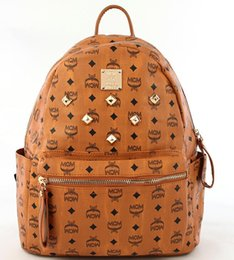 Wholesale High Quality Leather Man Bag - Hot Fashion Luxury Brand Backpack Style PU Leather High Quality New Arrival Designer Backpack Bags Fashion Women Men School Bags handba