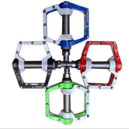 Wholesale Light Pedal Bike - 2016 Cycling Pedals BMX parts Light Bicycle Pedals bike Pegs Outdoor Sports MTB Road Bike Cycling Bicycle Pedals
