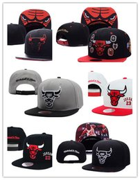 Wholesale Fitted Hats Baseball Caps - New Hot Men's Women's Basketball Snapback hat Chicago Baseball Snapbacks Hats Mens Flat Caps Adjustable Cap Sports Hat mix order
