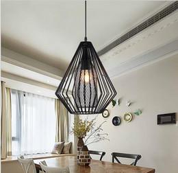 Lampada a sospensione industriale a sospensione in ferro vintage in ferro nero per ristorante bar Foyer Dinning Room E27 Holder da