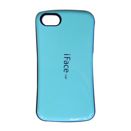 Wholesale Iphone 5c Hard Silicone - Slim 3D iFace Case For Iphone7 I7 Iphone6 4.7 Plus 5.5 5 5S 5C SE 4 4S Korea Hybrid Hard PC Soft TPU Fashion Back Skin