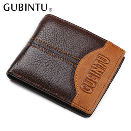 Wholesale Top Cowhide Leather Wallet - Men wallet Top Quality brand wallet luxury men purse mens wallets leather vallet carteira masculina male money bag