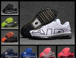 Wholesale Name Brand Shoes For Men - 2017.9 Name Brand Sneakers Maxes Flair Kpu Running Shoes 2017 For Men Training Runners Outdoor Shoe Mens Hiking Sneakers Size 40-47