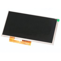 Wholesale 7inch lcd display - Wholesale- Original New 7inch LCD display Matrix 164* 97mm 30 pin For Explay  3G Tablet LCD Screen Lens Module Free Shipping