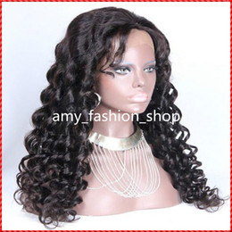Wholesale Curly Hair Front Lace Price - Hair Factory price human hair wig, Brazilian Lace wig, 100% human hair full lace wig