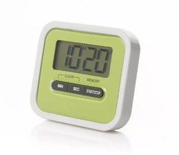 Wholesale Digital Display Clock Countdown - LCD Digital Kitchen Countdown Timer Alarm Plastic Display Timer Clock Kitchen Timers Cooking Tools Accessories