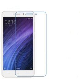 Wholesale Xiaomi Red Mi - Phone Tempered Glass For XIAOMI Redmi 4A Phone Protective Phone film touch screen protector Free shipping