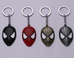 Wholesale Spider Woman Hot - NEW Hot Cartoon Game movie Key Car keychian Marvel spider-man Alloy keychain wedding favors keychain cc616