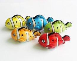 Venta al por mayor 200 unids / lote 6 agujeros de pescado de dibujos animados horno Ocarina horno de cerámica Alto C Leyenda de Zelda Zelda Ocarina flauta / instrumentos musicales desde fabricantes