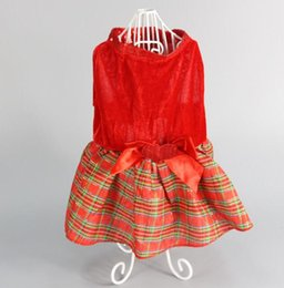 Wholesale Dog Dress Hoodie - Christmas Elk Pet Dog Coat Clothes Winter Warm Dress 5 Size XXS~L Dogs Hoodies Chihuahua Transfiguration Apparel MT-029