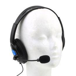 Canada P4-890 casque filaire de jeu écouteurs avec microphone micro stéréo souper basse pour Sony PS4 pour PlayStation 4 joueurs en gros Offre