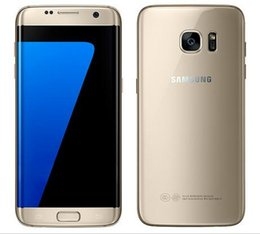 "Wholesale New 4g Phones - 2016 New Arrival Original Samsung Galaxy S7  Galaxy S7 Edge 5.1"" 12MP Camera 2160p 4GB RAM 32GB ROM 4G LTE Dual SIM Mobile phone"