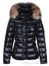 Wholesale Hooded Fur - M11 Luxury Brand parkas for women winter jacket Women Winter Coat Ladies anorak women coats with real raccoon fur jackets