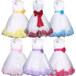 Wholesale Princess Clothing For Toddler Girls - Samgami Baby New 2016 Summer dresses for Girls flower girl Dress Kids Clothing Children Wear Fashion Toddler Princess baby girl Dress