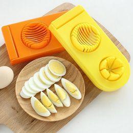 кухонные перегородки Скидка из нержавеющей стали яйцо делители яйцо слайсеры сплиттер резак инструмент творческая кухня гаджеты яйца салат DH12