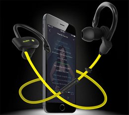 Wholesale Water Proof Headphones - New 2016 56S Sports Wireless Bluetooth 4.1 Stereo Headset Earphone Handsfree in-ear headphones Noise Cancelling Water-Proof without box