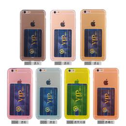 abdeckung iphone 4s hund Rabatt Ultradünner Kristall-weicher TPU-Abdeckungs-Fall mit Kartensteckplatz für iPhone 5S 6 6S 7 7S 8 Plus X Samsung S8 Plus Note 8