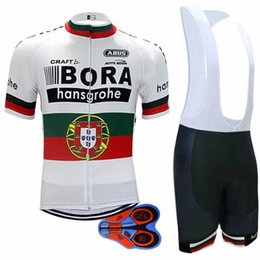 Wholesale Uci Cycling - 2017 bora team Summer dh Pro sporting Racing COMP UCI world tour Porto 9d gel cycling jerseys fh Bike Ciclismo clothing manufact