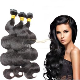 Wholesale Brazilian Body Wave Hair Bleachable - High Quality 8A Brazilian Hair Bundles Virgin Human HairExtensions Body Wave Wavy Dyeable Bleachable Hair Weaves Double Weft 3 Bundles a Lot